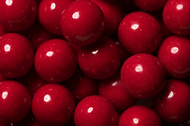 Gumballs Shine Red 2 Pounds Bulk Bag