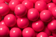Gumballs Shine Pink 2 Pounds Bulk Bag