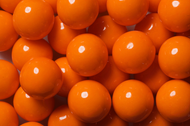 Gumballs Shine Orange 2 Pounds Bulk Bag