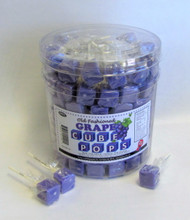 Cube Pops Purple 100 Count