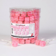 Cube Pops Pink 100 Count