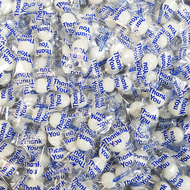 """Gourmet Mints """"Thank you"""" White 100 Count"""