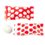 Big Dotted Red/white Buttermints  100 Count