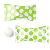 Big Dotted Kiwi Green/white Buttermints  100 Count