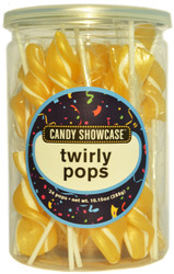 Twirly Pops Gold 24 Count