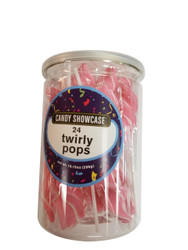 Twirly Pops Pink 24 Count