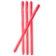 Circus Candy Sticks Red 10 pieces