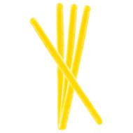 Circus Candy Sticks Yellow 10 pieces