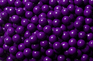 Sixlets Candy Coated Chocolate Dark Purple Case (12 Pounds)