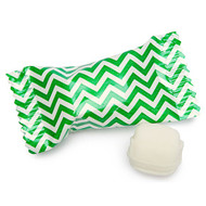 Chevron Green/white Buttermints  100 Count