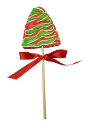 Christmas Tree Lollipops 12 Count