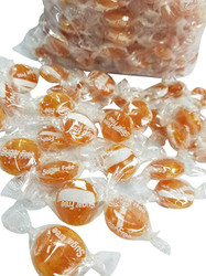 Atkinsons Sugar Free Butterscotch Buttons Discs Candy - 1 Pound