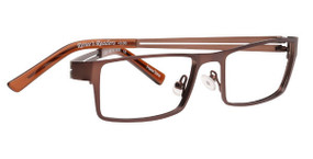 Matte Brown/Black & Brown Temples