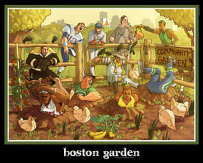 Boston Garden (T-shirt)