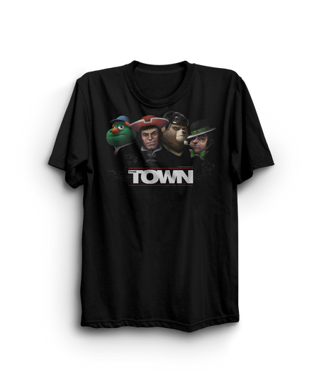 "The Town T-shirt ""wrong city to mess with"""