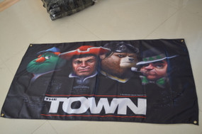 The Town Premium Wall Banner