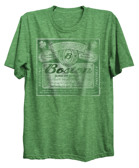 KING OF SPORTS T-SHIRT GREEN