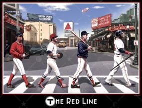 RED LINE PRINT