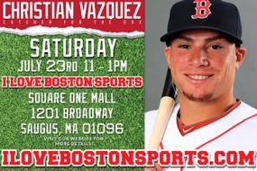 Christian Vazquez Appearance