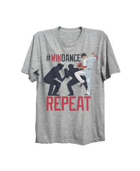WIN DANCE REPEAT T-SHIRT