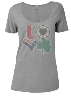Boston LOVE Scoop Neck