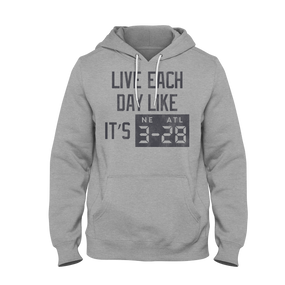 LIVE EACH DAY (HOODIE)