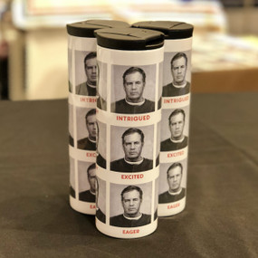 FACES OF BILL COFFEE TUMBLER