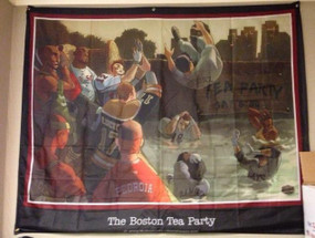 The Boston Tea Party Wall Banner