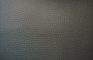 DARK GREY UPHOLSTERY LEATHER VINYL 135CM GRAINED FABRIC BY THE METRE