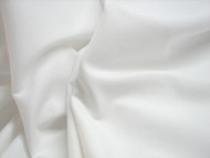 WHITE COTTON VOILE FABRIC  PER METRE