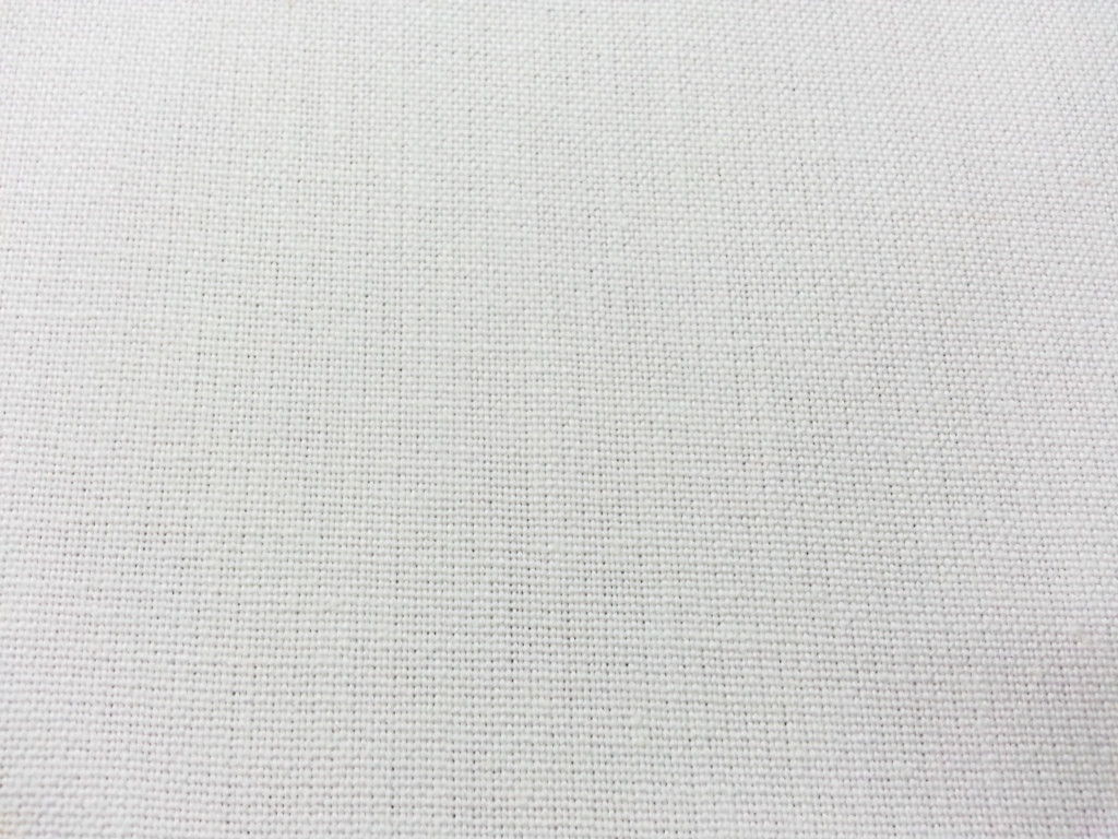 Waterproof White Canvas Fabric Per Metre Forrest Fabrics