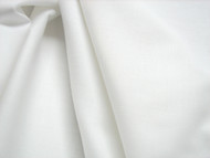 "94"" White Poly/cotton  Sheeting Fabric by the metre"