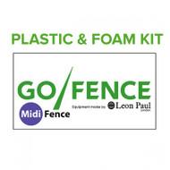 Midi-Fence® (GO/FENCE) Plastic + Foam Kit