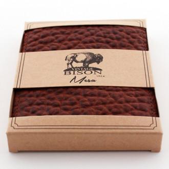 Vintage Bison Peanut Wallet