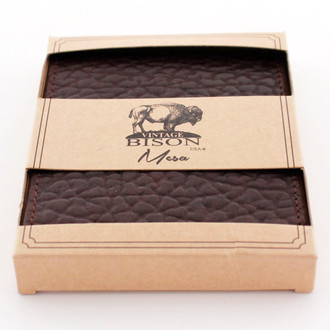 Vintage Bison Brown Wallet
