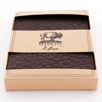 Vintage Bison Brown Wallet