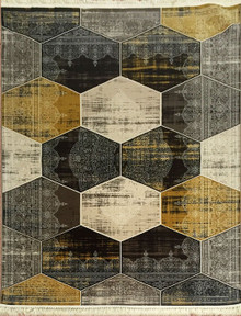 Abode Luxury 889 Beige Rug