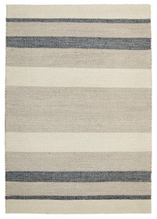 Ortiz 7506 Blue Cotton And Wool Rug