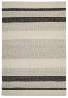 Ortiz 7506 Charcoal Cotton And Wool Rug