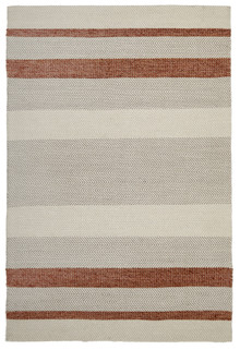 Ortiz 7506 Copper Cotton And Wool Rug