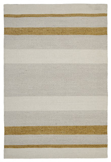 Ortiz 7506 Yellow Cotton And Wool Rug
