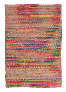 Abby Grind Multi Jute And Cotton Rug