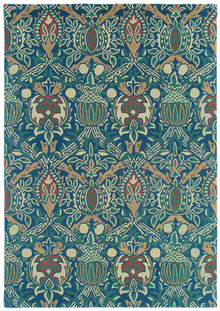 William Morris Granada Indigo Designer Wool