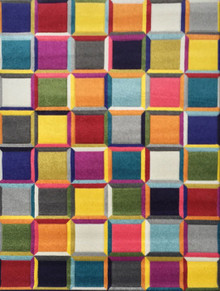 Boutique 952 Multi Box Modern Rug