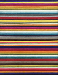 Boutique 958 Multi Stripe Modern Rug