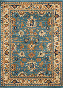 Classic Persian 1260 Blue Rug