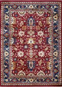 Classic Persian 1260 Red Rug