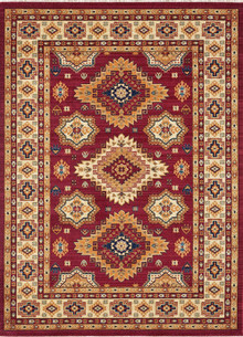 Classic Persian 1267 Red Rug