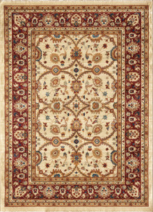 Classic Persian 1270 Ivory Rug