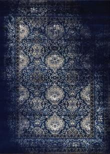 Antique Sahara 100 Navy Traditional Rug